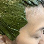 ハナヘナ ハーバルマホガニーで出てきた白髪を毎月染めてる髪